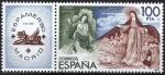 Sellos de Europa - España -  2582 Exposición Filatéllica de América y europa. ESPAMER-80.