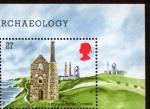 Stamps United Kingdom -  REINO UNIDO - Paisajes mineros de Cornualles y el oeste de Devon