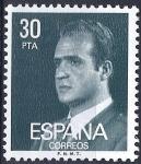 Stamps Spain -  2600 S.M. Don Juan Carlos I.