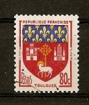 Stamps France -  Escudos / Toulouse.
