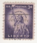 Stamps : America : United_States :  LIBERTY