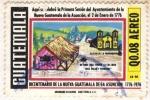 Stamps Guatemala -  Bicentenario de la Nueva Guatemala de la Asuncion