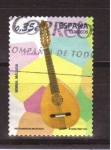 Stamps Spain -  serie instrumentos musicales