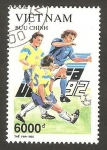 Stamps : Asia : Vietnam :  campeonato europeo de fútbol euro 92