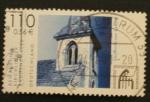 Stamps Germany -  dorfkirche von canzow