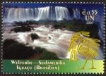 Sellos de America - ONU -  BRASIL - Parque Nacional de Iguazú