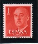 Sellos de Europa - España -  1955-56 General Franco Edifil 1153