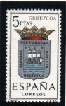 Stamps Spain -  1963 Guipuzcoa Edifil 1490