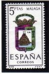 Stamps Spain -  1964 Malaga Edifil 1558