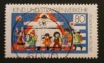 Stamps Germany -  kind und strassenverkehr