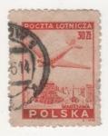 Stamps : Europe : Poland :  AEREO