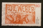 Stamps Germany -  gerhart hauptmann
