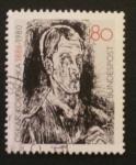 Stamps Germany -  oskar kokoschka