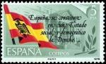 Stamps Spain -  Prolamación de la Contitución Española