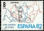 Stamps Spain -  Mundial España'92