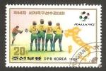 Stamps North Korea -  Mundial de fútbol Italia 90