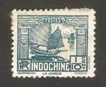 Stamps : Asia : Vietnam :  indochina - un junco