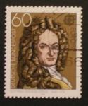 Stamps Germany -  europa, gottfried wilhelm leibniz