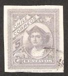 Sellos de America - Chile -  COLON CHILE CORREOS..(DESCONOCIDO)