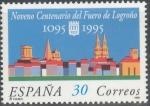 Sellos de Europa - España -  ESPAÑA 1995_3338 IX centenario del Fuero de Logroño. Scott 2801