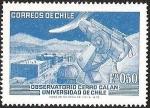 Sellos de America - Chile -  OBSERVATORIO CERRO CALAN UNIVERSIDAD DE CHILE