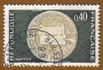 Stamps France -  Cincuentenario del Cheque