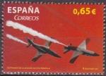 Sellos de Europa - España -  ESPAÑA 2011 4654 Sello ** Aviacion Militar Española Exhibicion Aerea Espana Spain Espagne Spagna