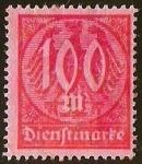 Stamps Germany -  DIENFTMARKE