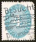 Stamps Germany -  DEUTSCHES REICH - DIENFMARKE