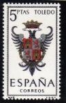 Stamps Spain -  1966 Toledo Edifil 1696