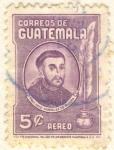 Stamps Guatemala -  Fray Payo Enriquez de Rivera