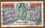 Sellos de Europa - Francia -  ETATS GENERAUX 1302