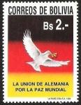 Sellos del Mundo : America : Bolivia : LA UNION DE ALEMANIA POR LA PAZ MUNDIAL