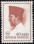 Stamps Indonesia -  ACHMED SUKARNO
