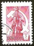 Stamps Russia -  HOMBRE Y MUJER - SIMBOLO