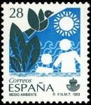 Sellos de Europa - España -  Servicios Publicos