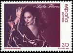 Stamps Spain -  Personajes Populares