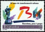 Stamps Spain -  Barcelona ponte guapa