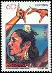 Sellos de Europa - España -  Carmen Amaya