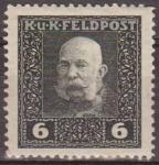 Stamps Austria -  AUSTRIA 1915 Scott M26 Sello ** Emperador Franz Josef 6h Osterreich Autriche