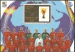 Sellos del Mundo : Europa : España : mundial de fútbol Sudáfrica 2010, España campeona