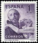 Stamps Spain -  IV Centenario de la muertede San Juan de Dios
