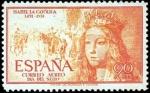 Sellos de Europa - España -  V Centenario del nacimiento de Isabel la Católica