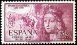 Stamps Spain -  V Centenario del nacimiento de Isabel la Católica