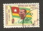 Stamps Africa - Togo -  sylvanus olympio, anivº de la independencia