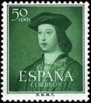 sellos de Europa - España -  V Centenario del nacimiento de Fernando el Católico