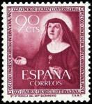 Stamps Spain -  XXXV Congreso Eucarístico Internacional en Barcelona