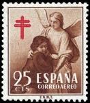Sellos de Europa - España -  Pro tuberculosos