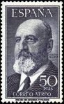 Stamps Spain -  Fortuny y Torres Quevedo