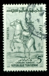 Stamps : Africa : Tunisia :  Jinete tunecino